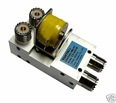 Tohtsu CX-800M 12VDC DPDT UHF Antenna Coaxial Relay SO239