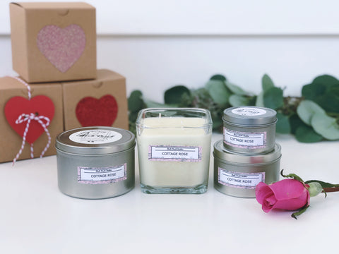 Cottage Rose Candle