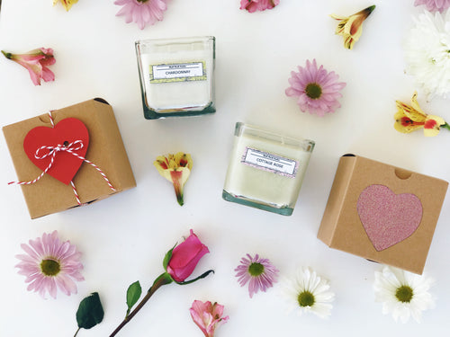 Valentine's Candles