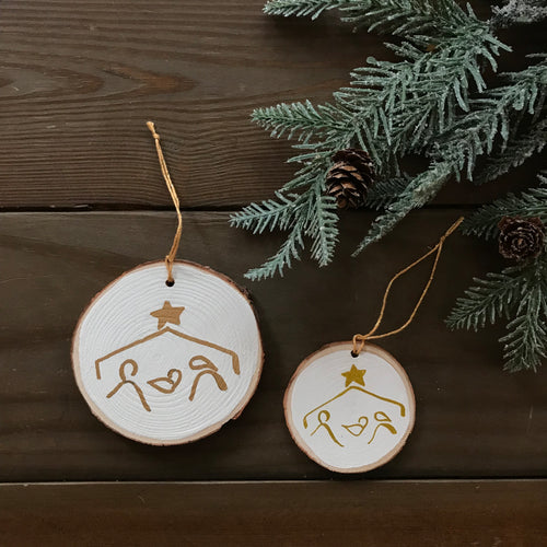 Nativity Scene Ornaments