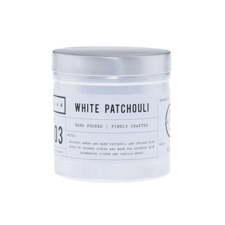 White Patchouli - Tin