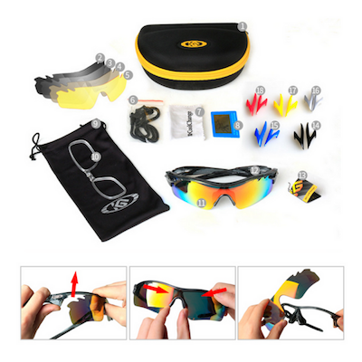 HD Polarized Cycling Glasses