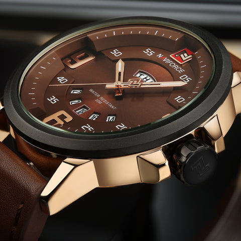 Hector - Luxury Leather Wrist Watch