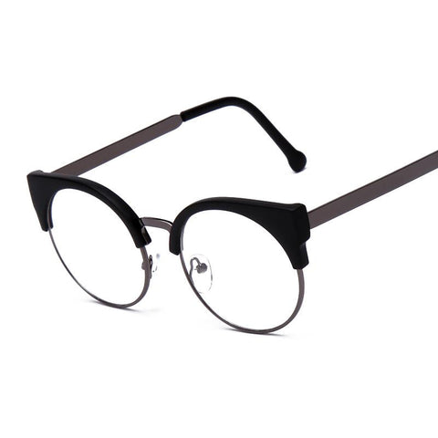 Grau High quality Fashion F15010 Women Eyeglasses