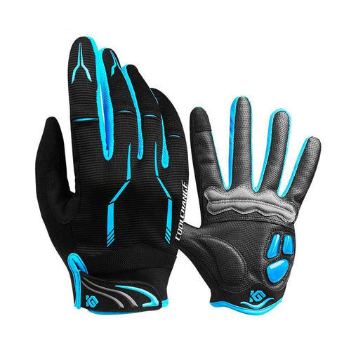 Anti Slip Cycling Gloves Touch Screen with Silicon Rubber