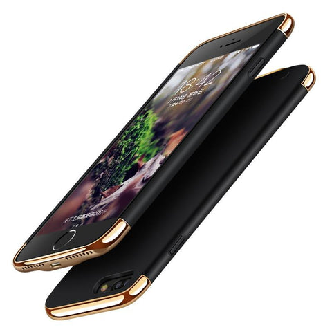 3 in 1 Ultra thin Shockproof Power Bank Case