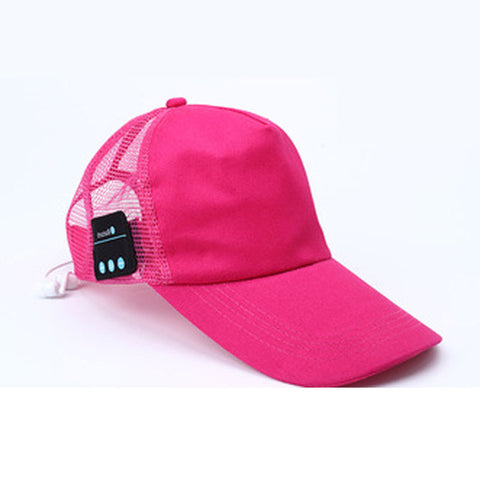 Hat with Wireless Bluetooth Earphone