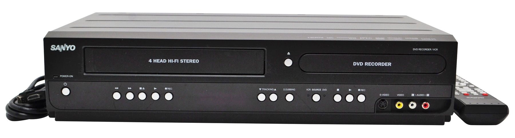 One Of The Best DVD VCR Combo Recorders (Sanyo FWZV475F) - Still Available at ForTheLow.Net