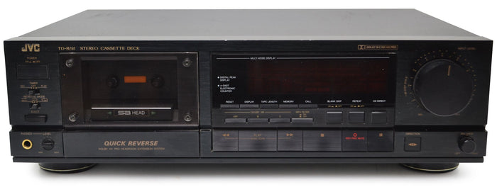 How to replace the belts on a cassette player?