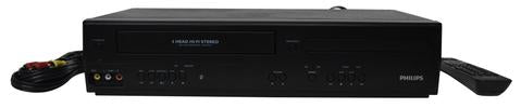PHILIPS DVP3355V/F7 DVD VCR COMBO PLAYER