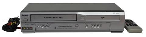SANYO DVW-7200 DVD/VCR COMBO PLAYER
