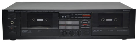 Yamaha Dual Cassette Deck Player On sale