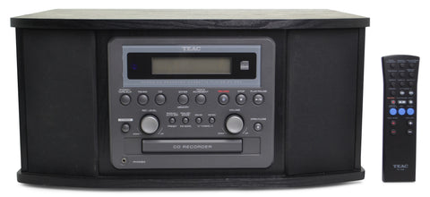 Teac all-in-one stereo system compact disc design