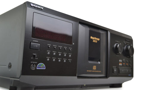 sony 300 disc cd player