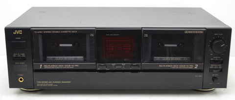 BEST JVC dual Cassette player and recorder deck