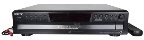 Sony 5 Disc CD Changer Carousal Compact Disc