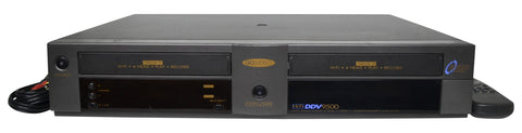 govideo ddv9500 dual deck vhs player and recorder