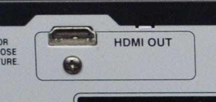 HDMI 1080p Upconversion Port