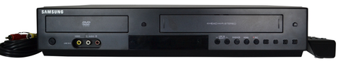 Samsung DVD VCR Combo Player Device With HDMI Interface