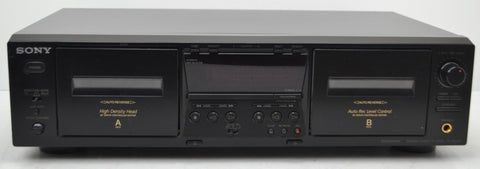 sony dual cassette player and recorder combo
