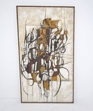 Abstract Painting by Joe Hartnett circa 1960s