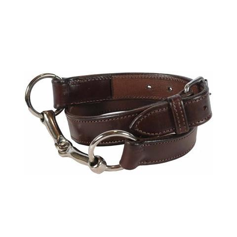 Rebecca Ray Bit Belt | Dark Brown - GDH | The decorators department Store