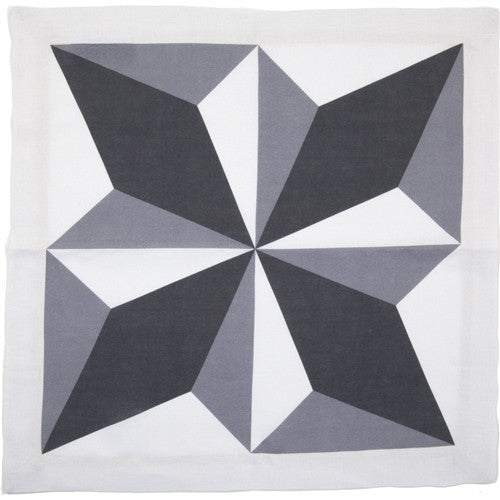 Diamond Light Linen Napkin by Huddleson Linens - GDH | The decorators department Store
