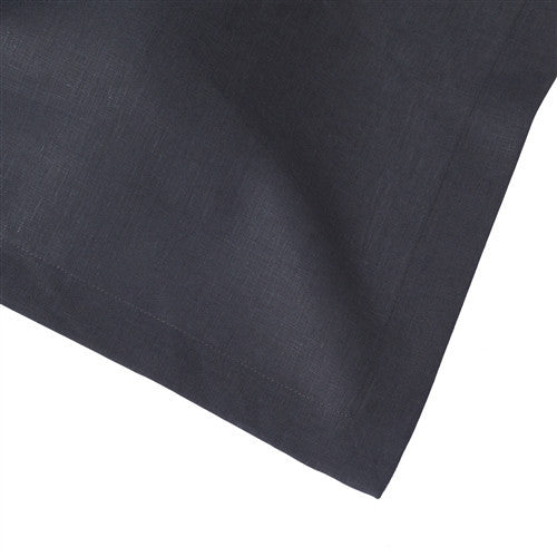 Solid Slate Grey Italian Table Linens by Huddleson Linens - GDH | The decorators department Store