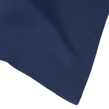 Solid Italian Table Linens | Navy - GDH | The decorators department Store