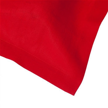 Solid Italian Table Linens | Scarlet - GDH | The decorators department Store