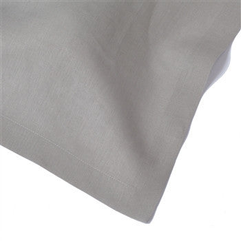 Solid Italian Table Linens | Silver Grey - GDH | The decorators department Store