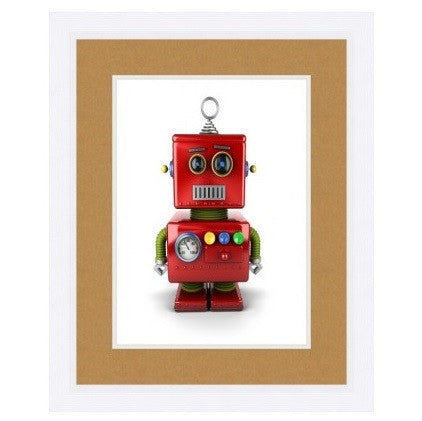 TOY RED ROBOT - GDH | The decorators department Store