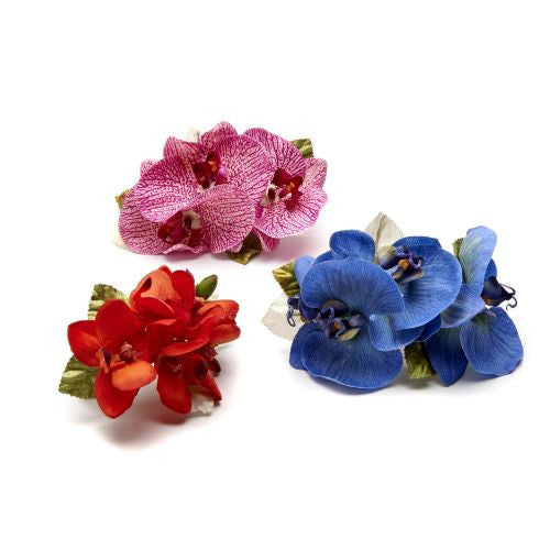 Speckled Orchid, & Pastel Orchid Napkin Rings S/4 - GDH | The decorators department Store - 1