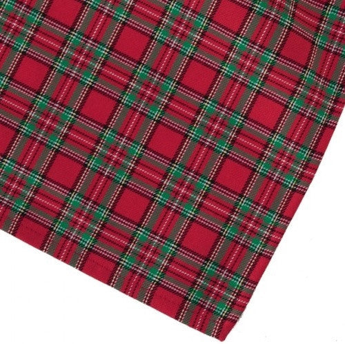 Red Green Plaid Napkin - GDH | The decorators department Store