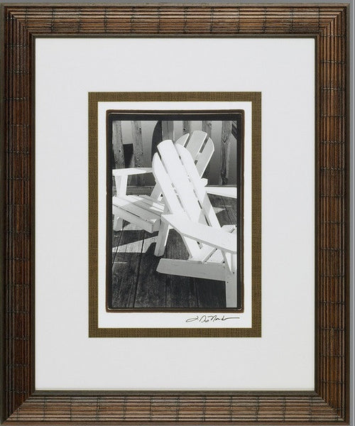 Seating For Two Framed Giclee Print