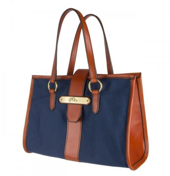 Rebecca Ray for Breeders' Cup Sally Handbag | Blue