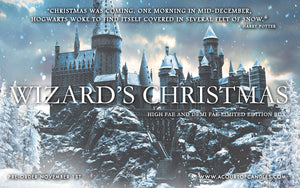 WIZARD'S CHRISTMAS - December's Limited Edition Box