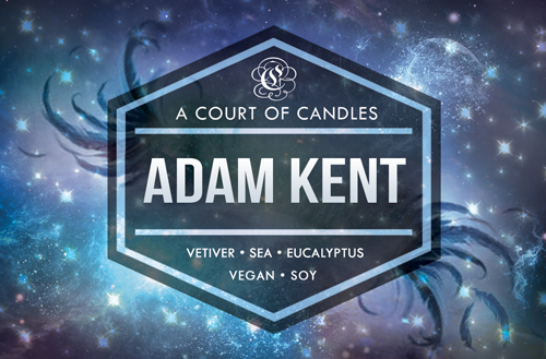 Adam Kent - Shatter Me Limited Editions - Soy Candle