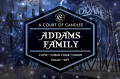 Addams Family - Soy Candle