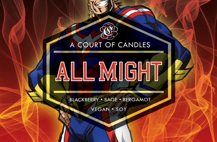 All Might - Soy Candle