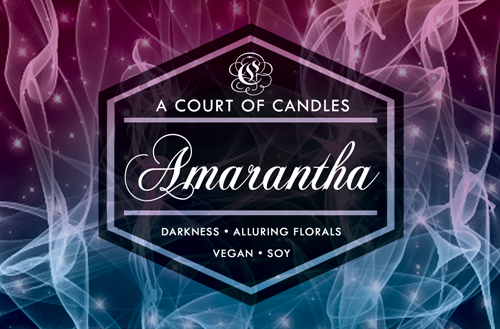 Amarantha - 100% Soy Wax - A Court of Candles