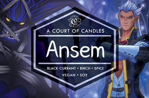 Ansem - KH Limited Edition - Soy Candle