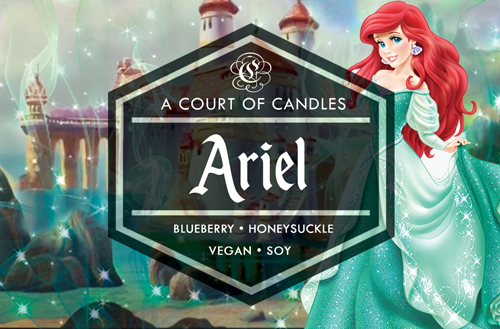 Ariel - Fairytale Princesses Limited Edition - Soy Candle
