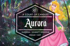 Aurora - Fairytale Princesses Limited Edition - Soy Candle