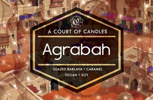 Agrabah - KH Worlds Collection - Soy Candle