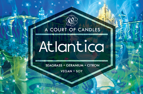 Atlantica - KH Worlds Collection - Soy Candle