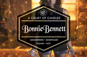 Bonnie Bennett - Soy Candle