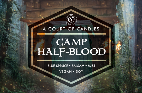 Camp Half-Blood - Half-Blood Heroes Limited Editions - Soy Candle