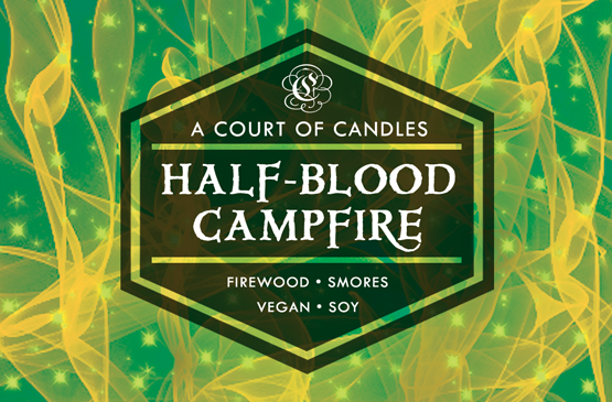 Half-Blood Campfire - 100% Soy Wax - A Court of Candles