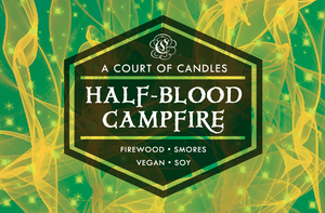 Half-Blood Campfire - Soy Candle